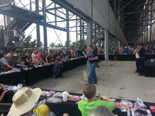 Kid's event with Jimmy Johnson at Daytona