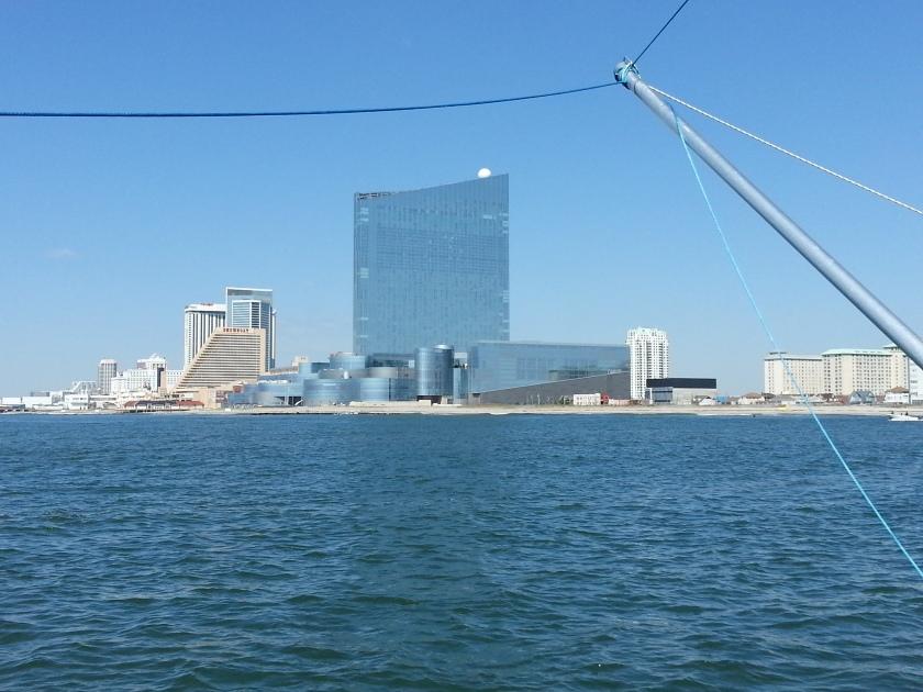 Leaving Atlantic City