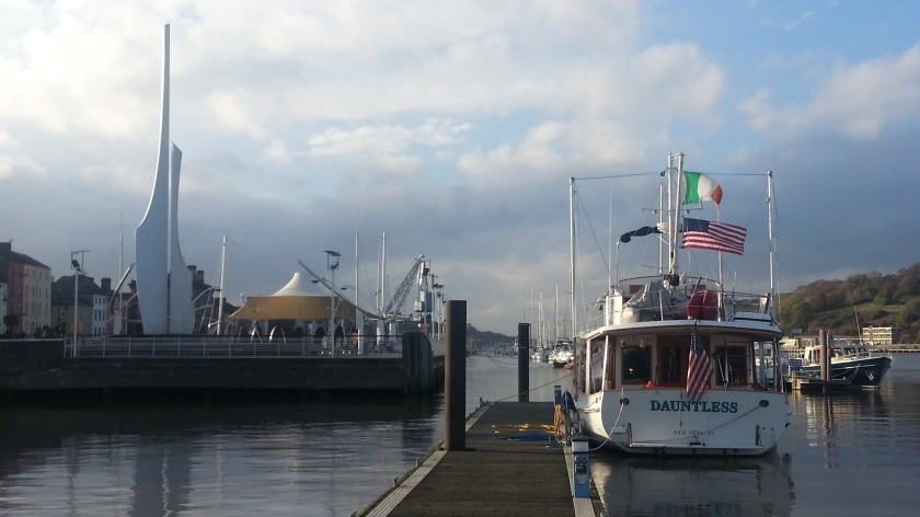 Dauntless in Waterford November 2014