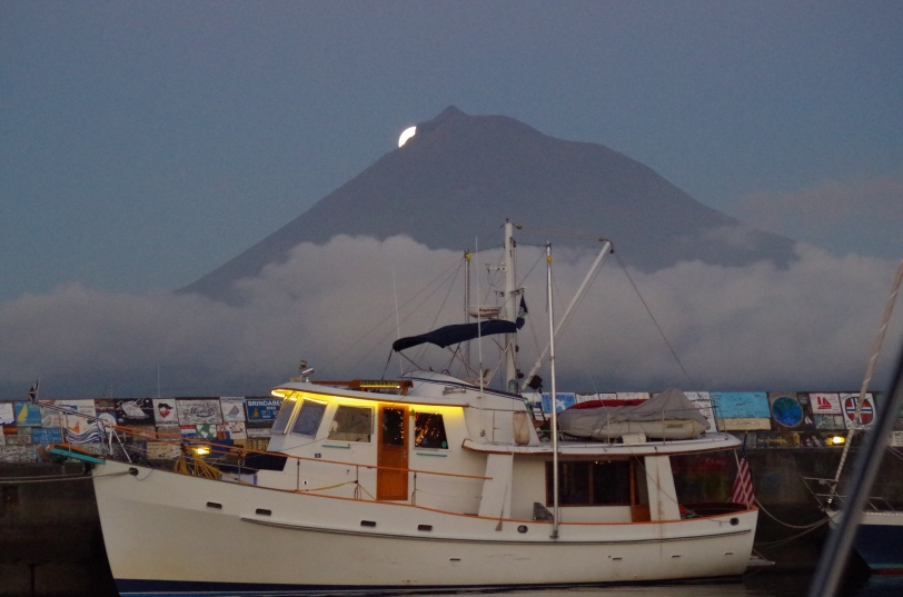 Moon Rising over Pico