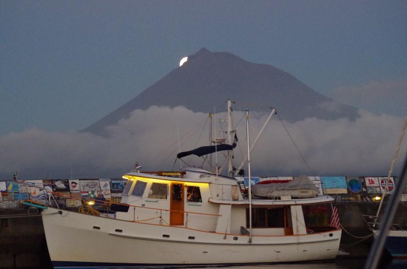 Moon Rising over Pico