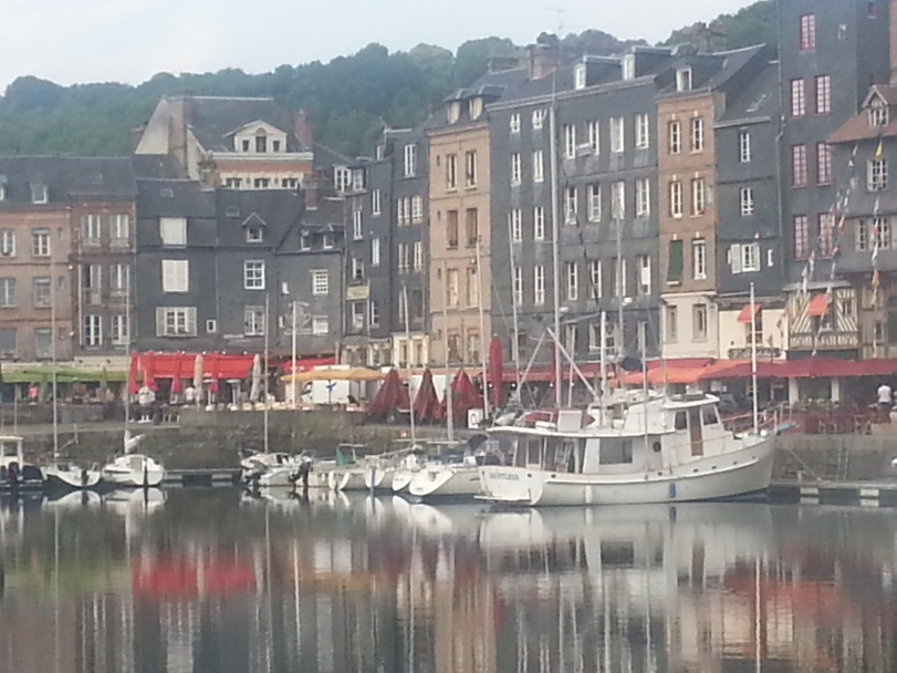 Dauntless in Honfleur