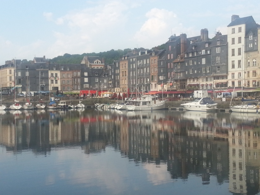 Dauntless in the Vieux Basin Honfleur, France
