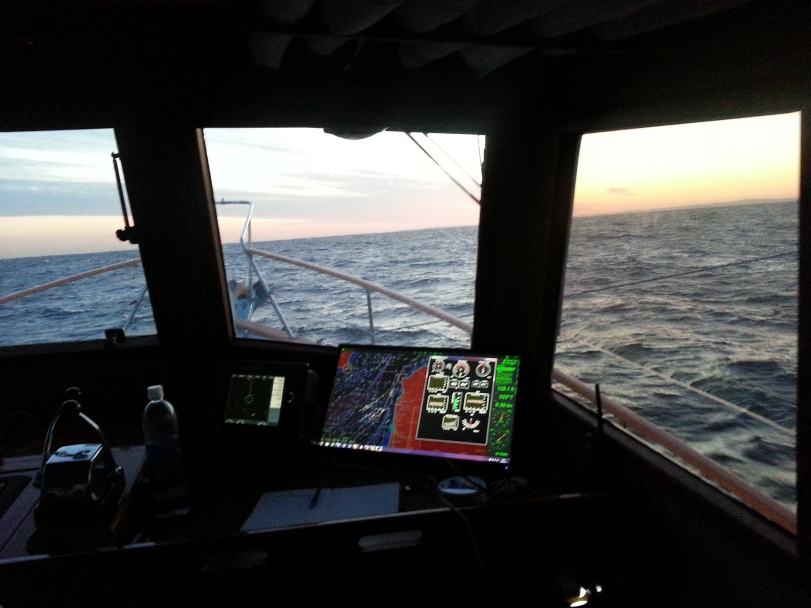 Monday Morning Dawns in the English Channel