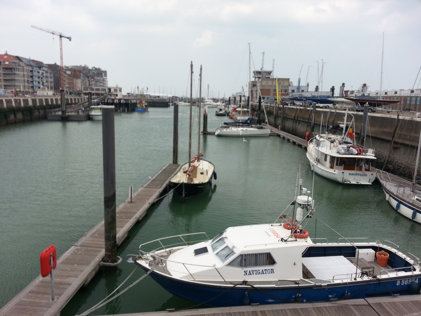 Dauntless Docked. There was a Sailboat 10' in Front