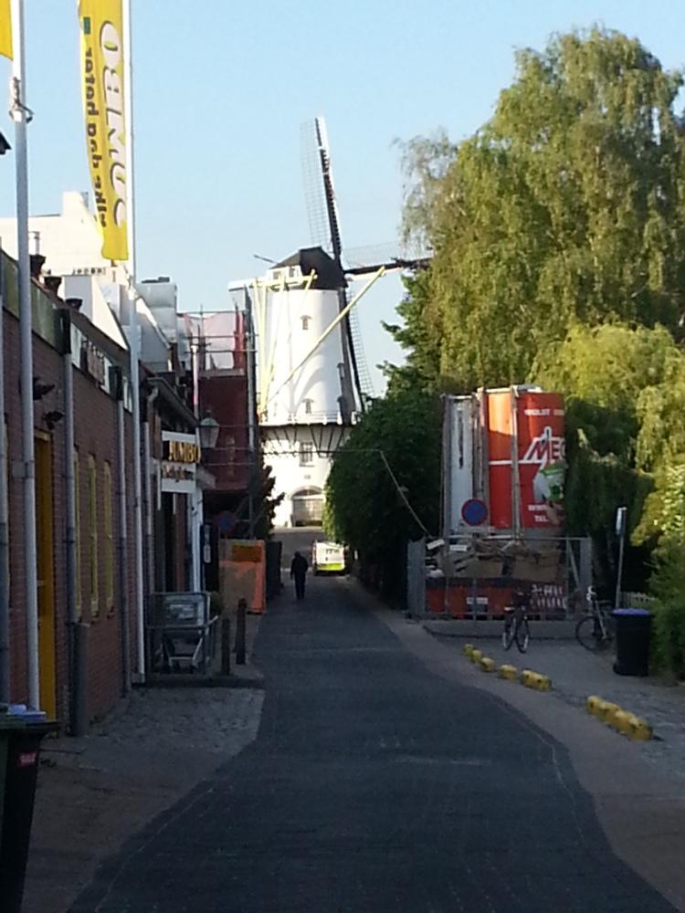 The Orange Windmill in Willemstad