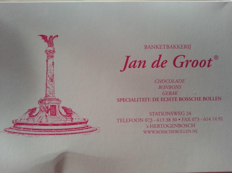 De Echte Bossche Bollen from the Jan de Groot bakery
