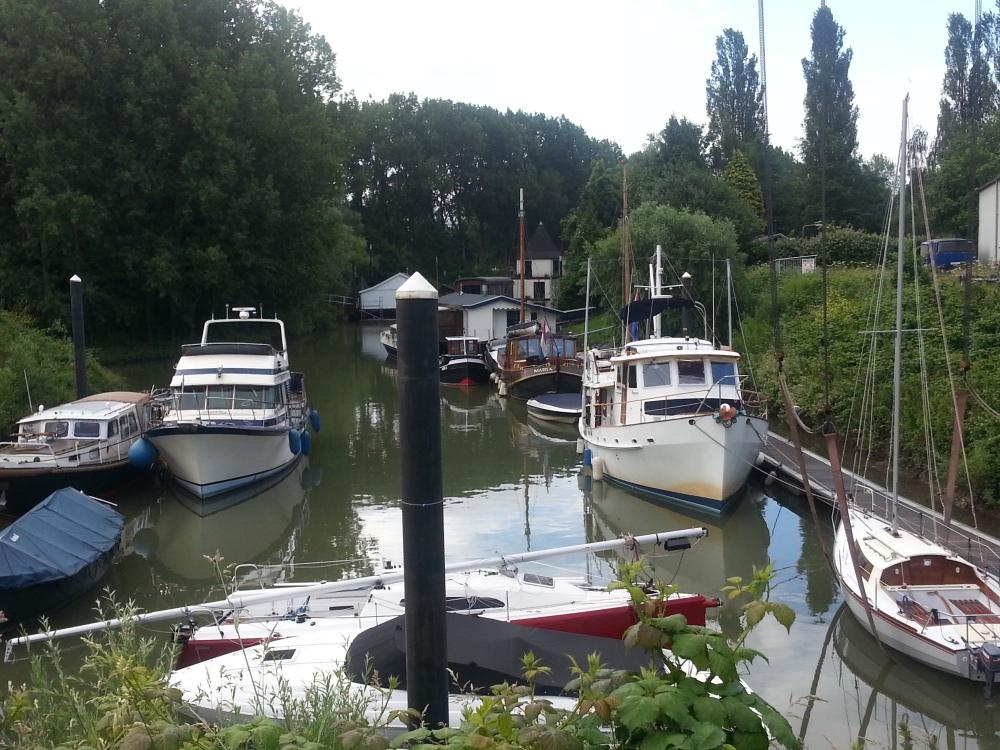 Docked at Watersport Centrum in Arnhem