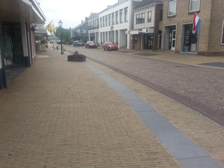 Lemmer Streets, the Dutch like bricks