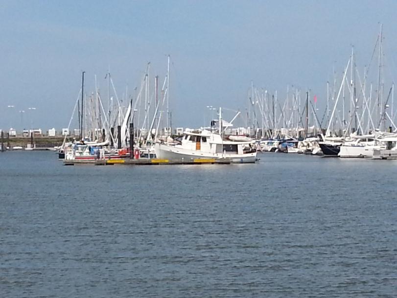 Dauntless in Cuxhaven