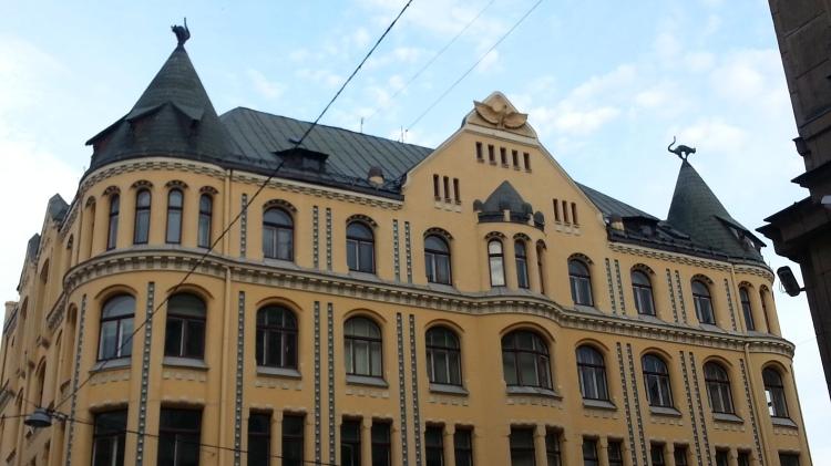 The Cat Building of Riga
