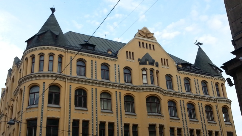 The Cat Building of Riga