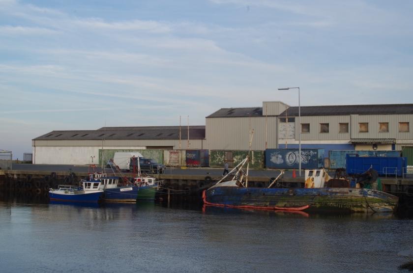 Arklow Inner Harbor