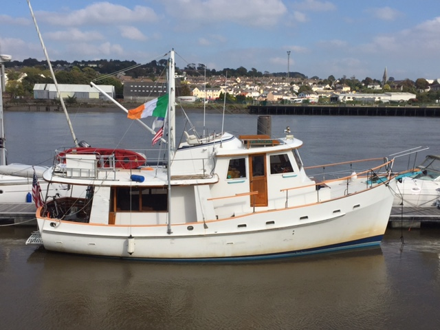 Dauntless in her New Spot in Waterford