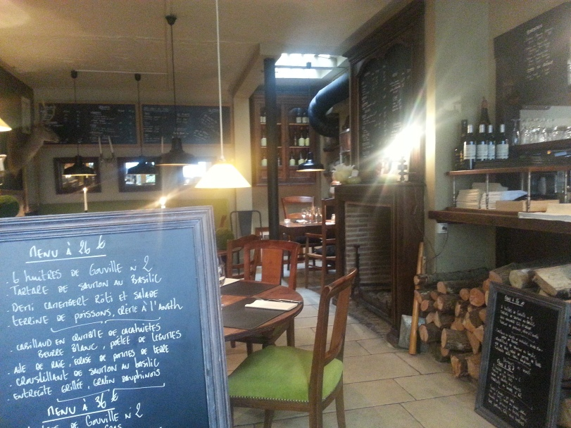 A Wonderful Restaurant in Honfleur