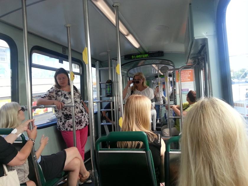 Leonie seeing only blondes in Helsinki