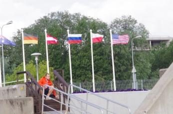 The Stars & Stripes over Estonia