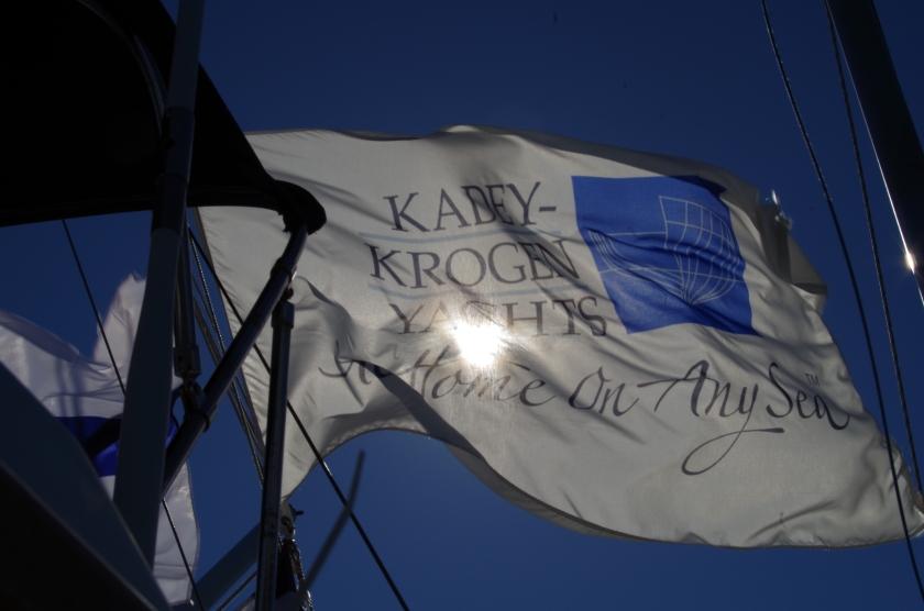 Kadey Krogen in the Baltic