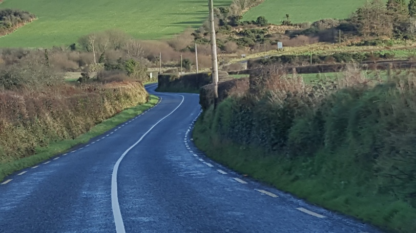 The road to New Ross
