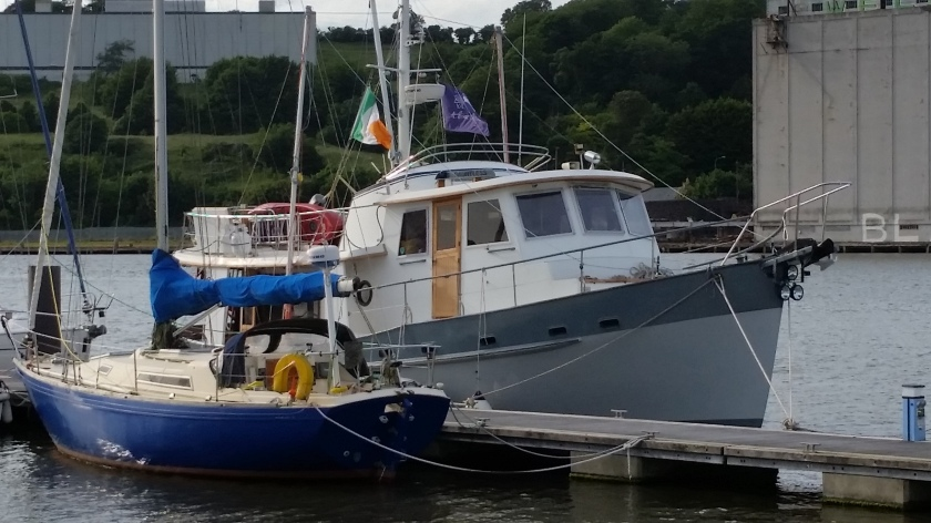 Dauntless in Waterford, June 2016.