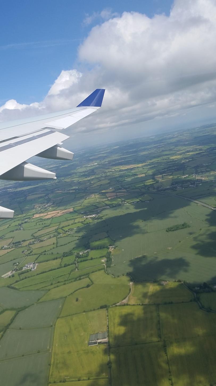 Ireland from 10,000 feet