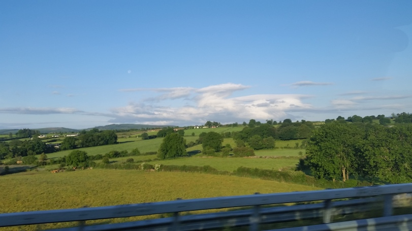 ON the road to Dublin