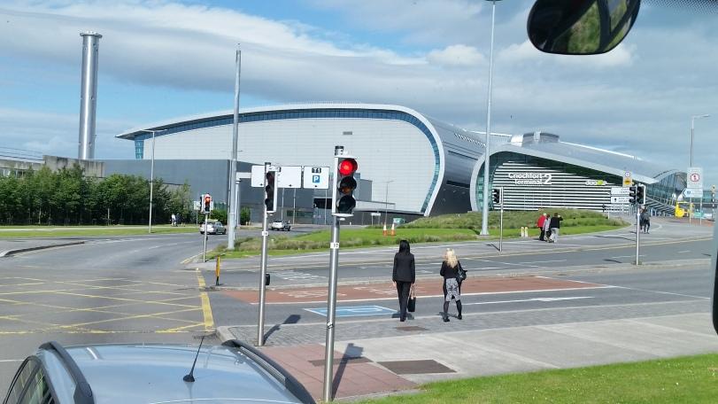 Approaching Dublin Airport