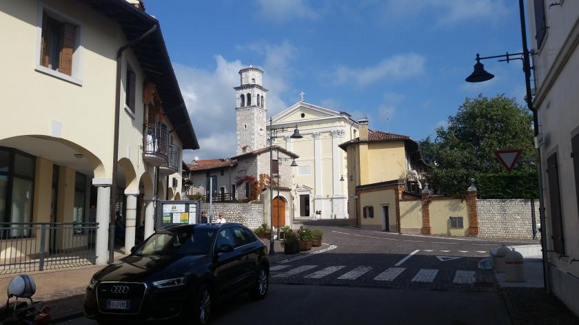 The church of Budoia