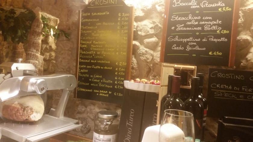 A Great Spot of Italian snacks