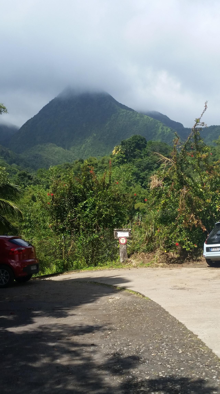 Mountain on Martinique