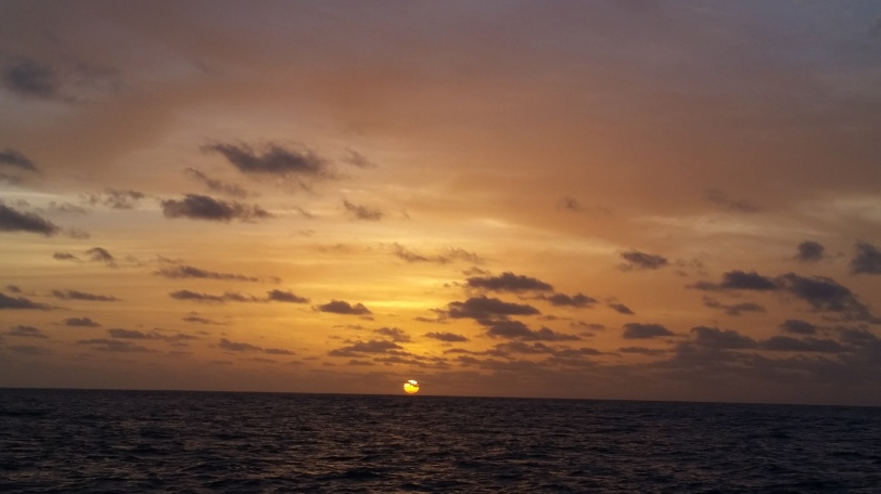 Sunset Looking Towards Bonaire