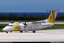 Dutch Caribbean Coast Guard plane