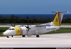 Dutch Caribbean Coast Guard plane